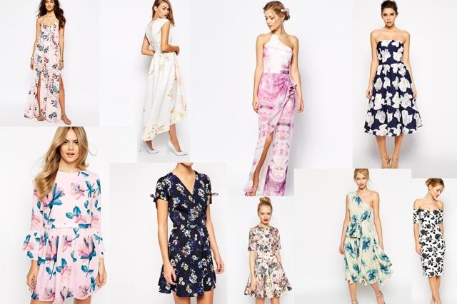 floral dresses asos